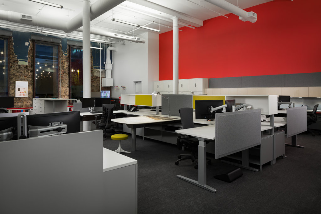 Office Environments Office Furniture Showroom In