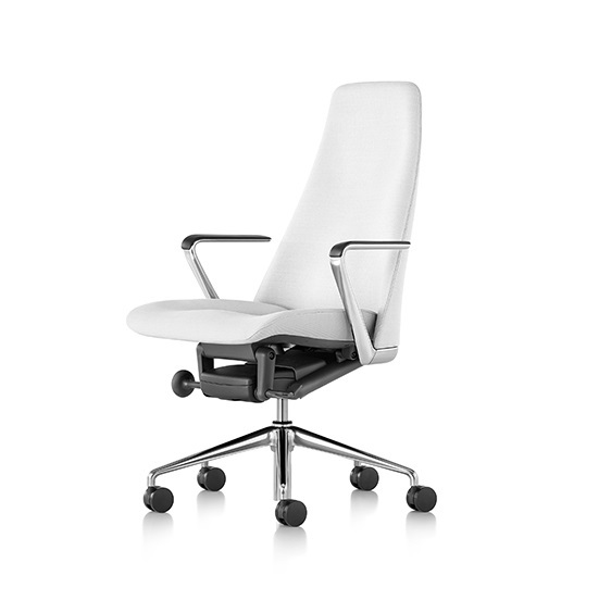 Geiger Taper Chair Leather Task Chair