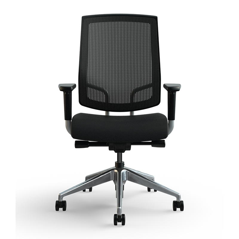 Focus Work Task Chair Medium Raven Front Med Res